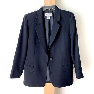 Black wool Pendleton blazer 8P